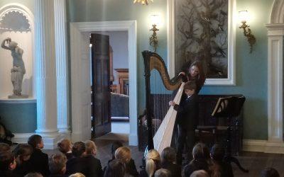 Harp recital a musical delight